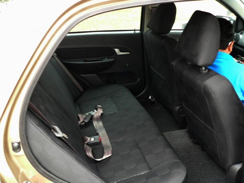 Proton Saga FLX 1.3L – first drive impressions Image #65770