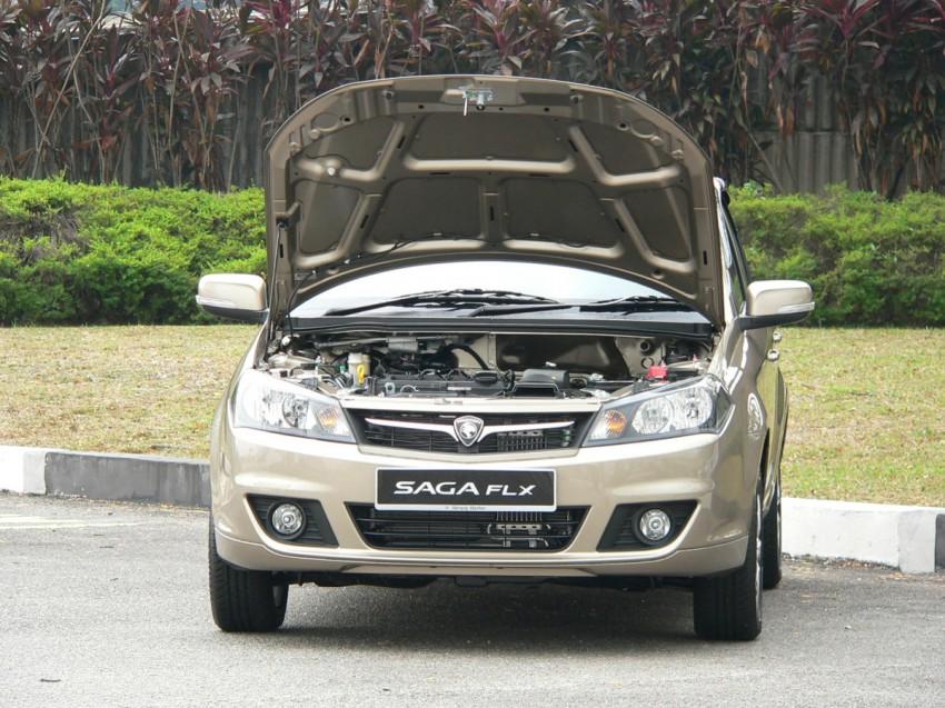 Proton Saga FLX 1.3L – first drive impressions Image #65772