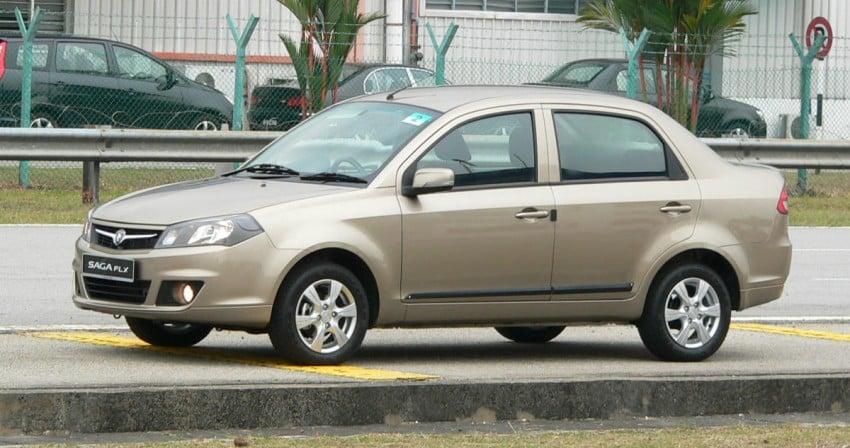 Proton Saga FLX 1.3L – first drive impressions Image #65789