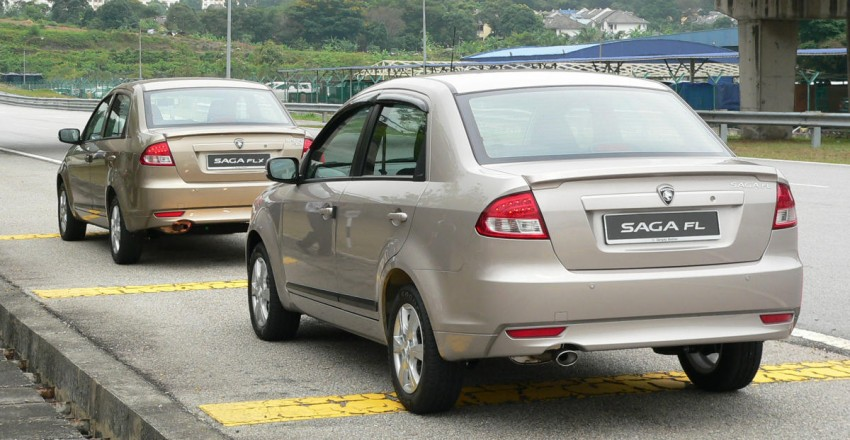 Proton Saga FLX 1.3L – first drive impressions Image #65795