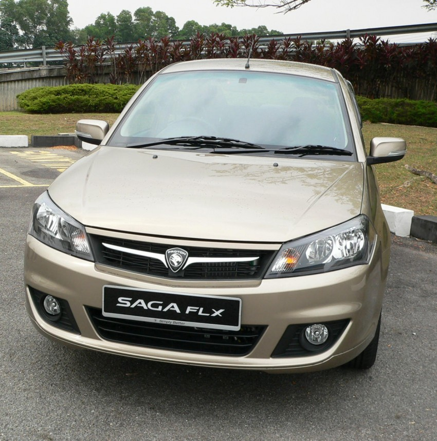 Proton Saga FLX 1.3L – first drive impressions Image #65796