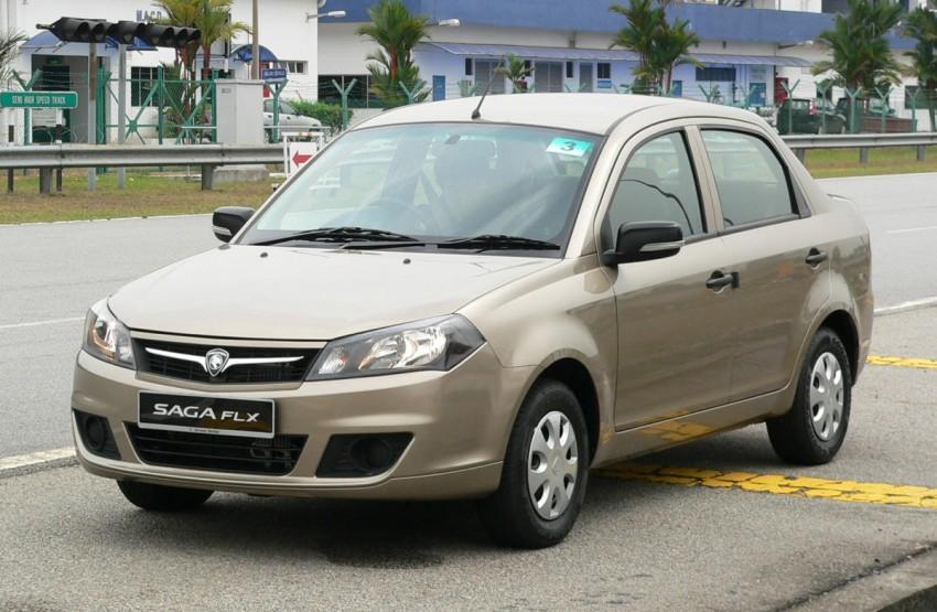 Proton Saga FLX 1.3L – first drive impressions Image #65798