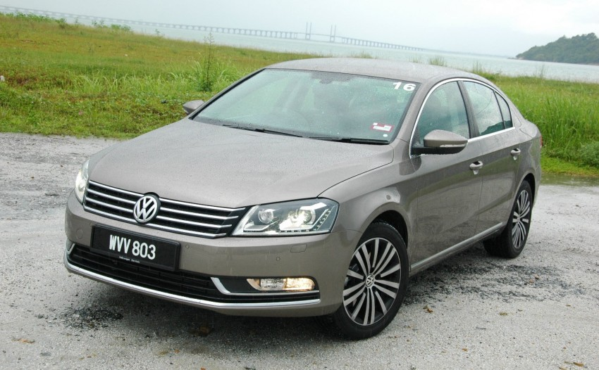 Volkswagen Passat 1.8 TSI – first drive impressions Image #75649