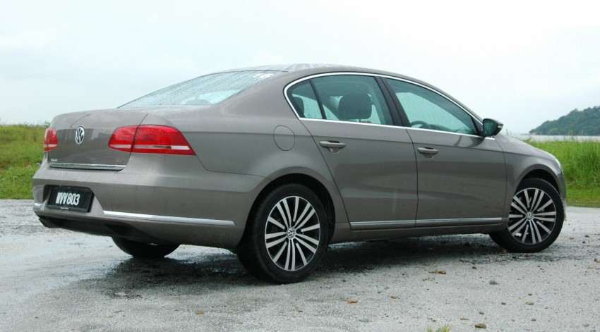 Volkswagen Passat 1.8 TSI – first drive impressions Image #75650