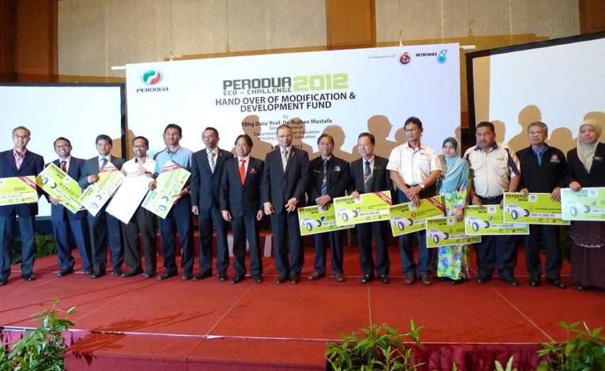 Perodua Eco Challenge is back for 2012, 13 teams to battle in the most challenging edition so far Image #91428