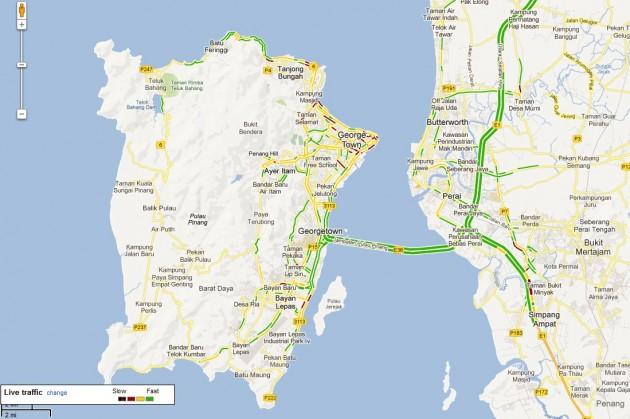 penang traffic