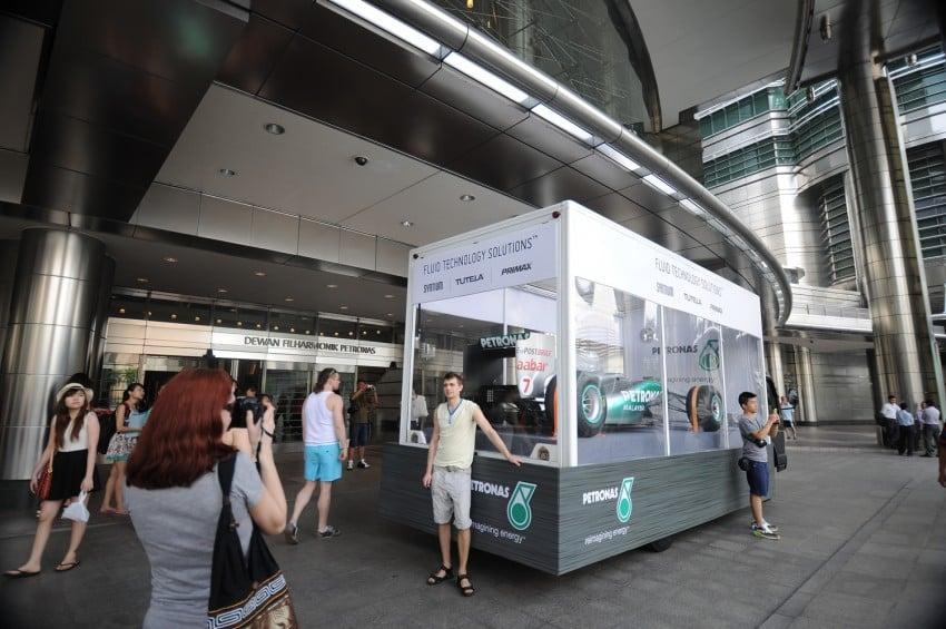 Petronas roving F1 car kicks off Malaysian GP activity Image #86662