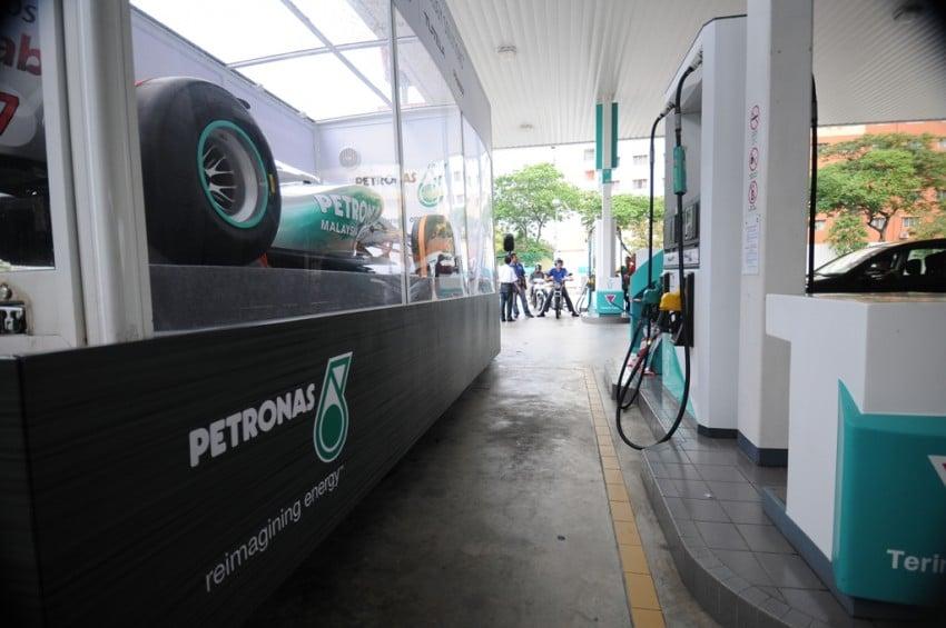 Petronas roving F1 car kicks off Malaysian GP activity Image #86665