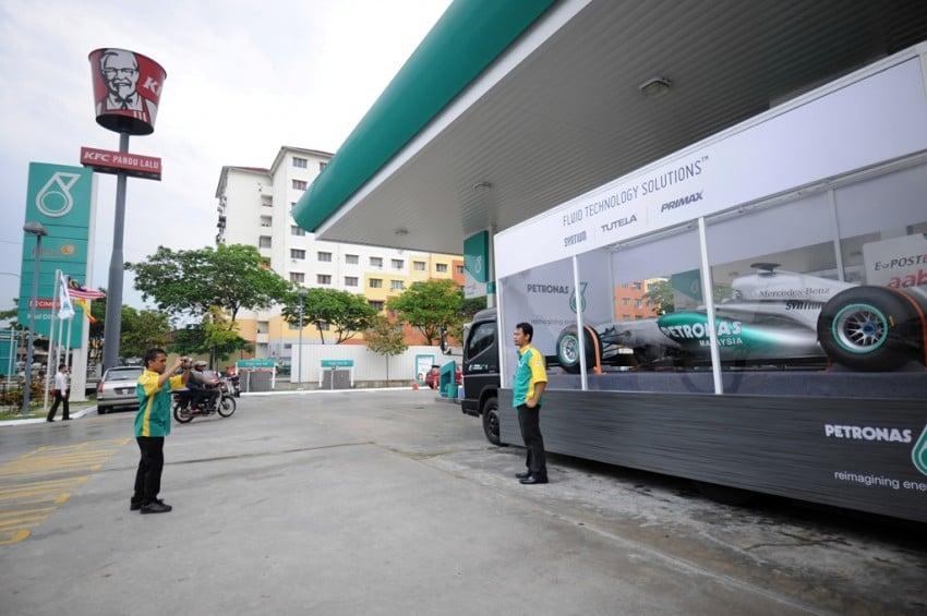 Petronas roving F1 car kicks off Malaysian GP activity Image #86667