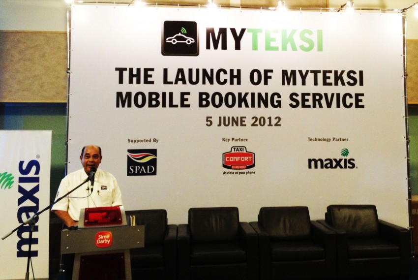 MyTeksi: book a taxi in Malaysia using an app Image #110520