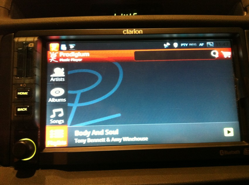 Prodigium Mobile opens infogo.com Music Store: coming to Clarion Android car stereos soon! Image #112782