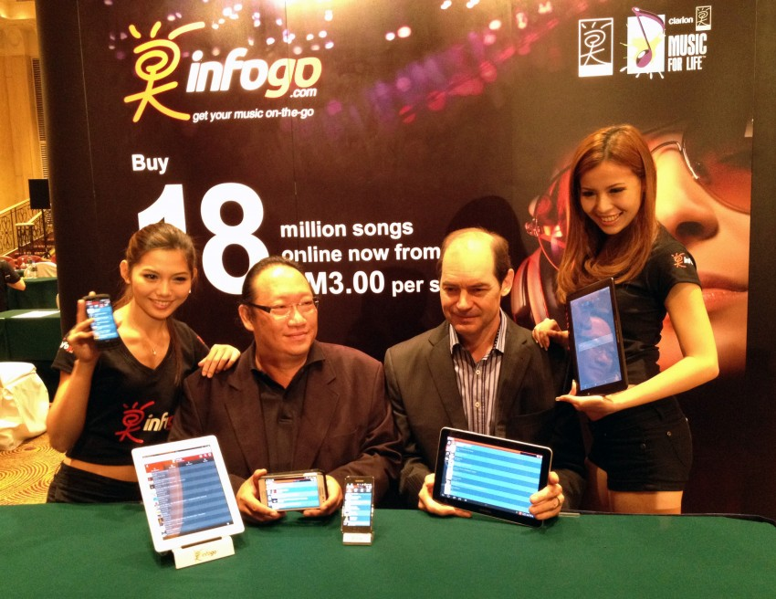 Prodigium Mobile opens infogo.com Music Store: coming to Clarion Android car stereos soon! Image #112801