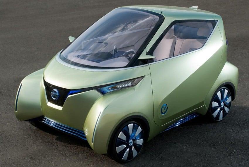 Nissan Pivo 3 – urban EV concept set for Tokyo debut Image #76103