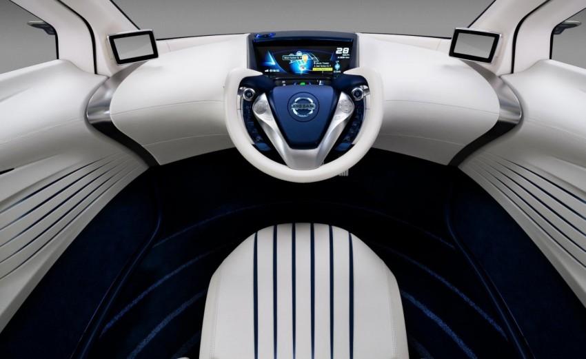 Nissan Pivo 3 – urban EV concept set for Tokyo debut Image #76114