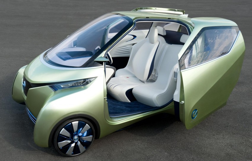 Nissan Pivo 3 – urban EV concept set for Tokyo debut Image #76105