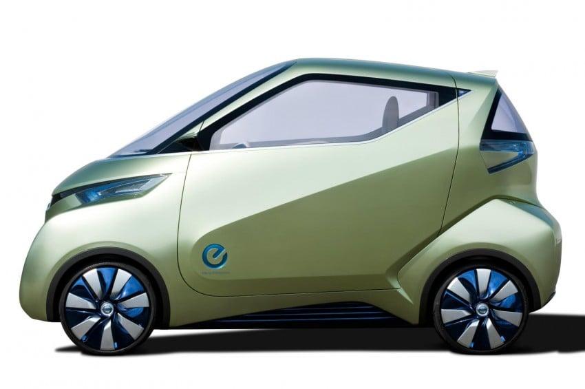 Nissan Pivo 3 – urban EV concept set for Tokyo debut Image #76106