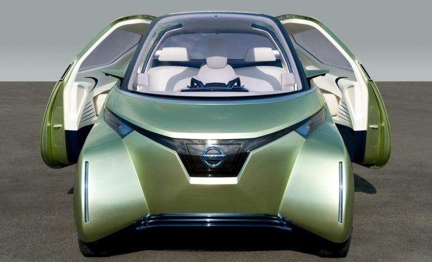Nissan Pivo 3 – urban EV concept set for Tokyo debut Image #76107