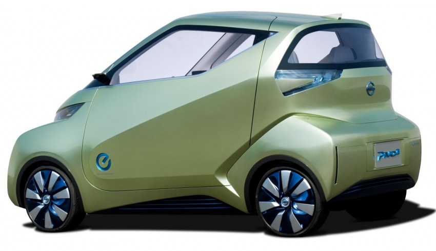 Nissan Pivo 3 – urban EV concept set for Tokyo debut Image #76110