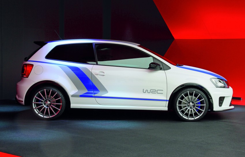 Volkswagen Polo R WRC Street concept, launch in 2013 Image #107114