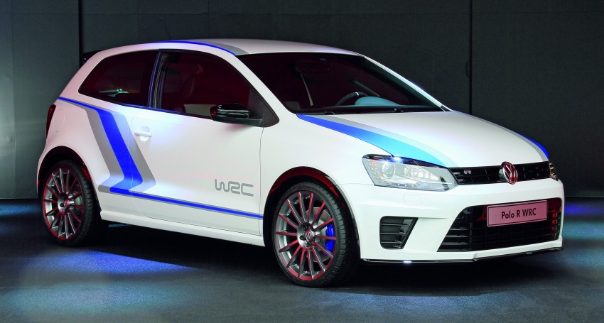 Volkswagen Polo R WRC Street concept, launch in 2013 Image #107116