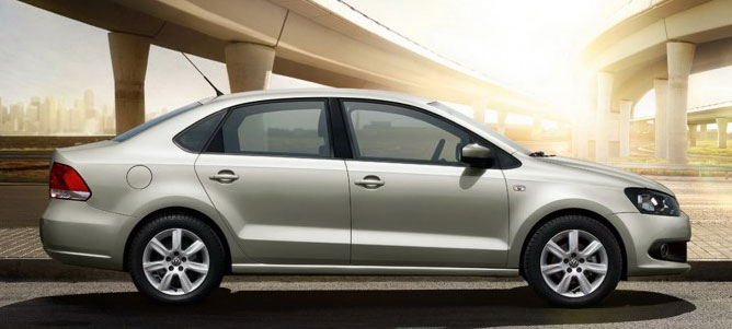 Volkswagen teases the Polo Sedan – full details tomorrow! Image #101323