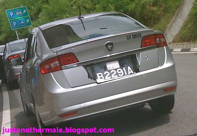 Left-hand drive Proton Prevé caught testing in Shah Alam! Image #105428