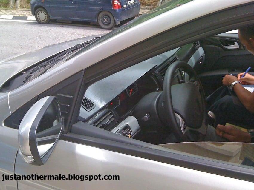 Left-hand drive Proton Prevé caught testing in Shah Alam! Image #105429
