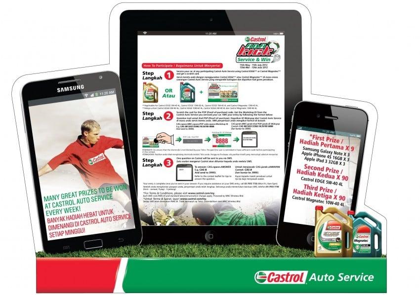 Castrol <em>Ada Kick</em> Service & Win – win a Samsung Galaxy Note, iPhone 4S or New iPad weekly Image #115519