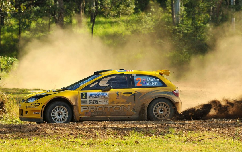 APRC Rally of Queensland: Chris Atkinson wins home race, Alister McRae finishes second for Proton Image #108826