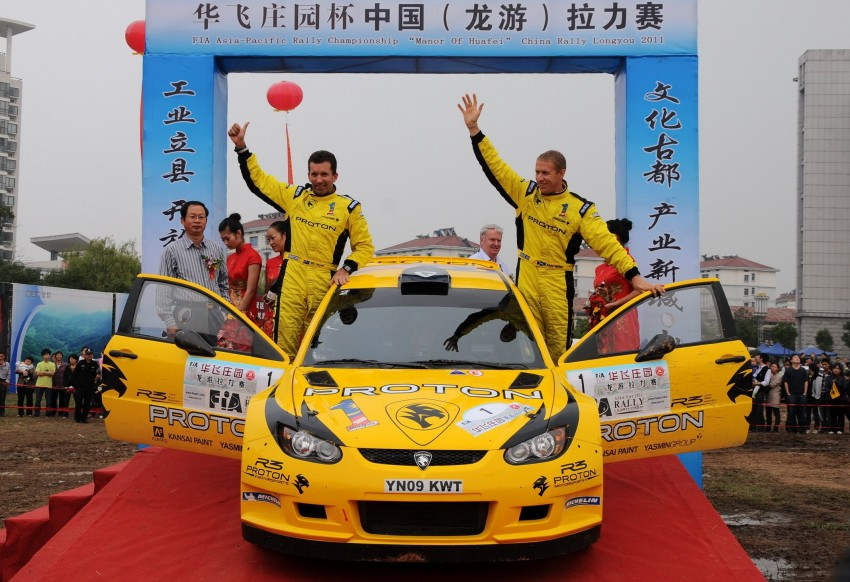 Proton wins China Rally – Alister McRae takes APRC driver's title, Proton clinches manufacturer's title Image #75791