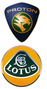 Proton and Lotus Logo