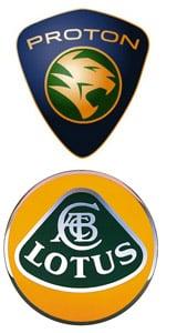 Proton and Lotus Logo
