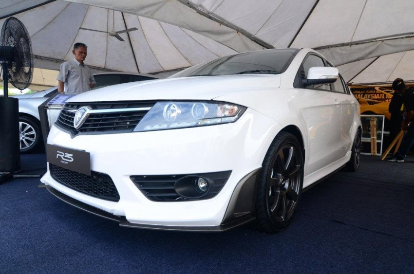 Proton Preve R3 Concept at 2012 Malaysian Rally Image #118367