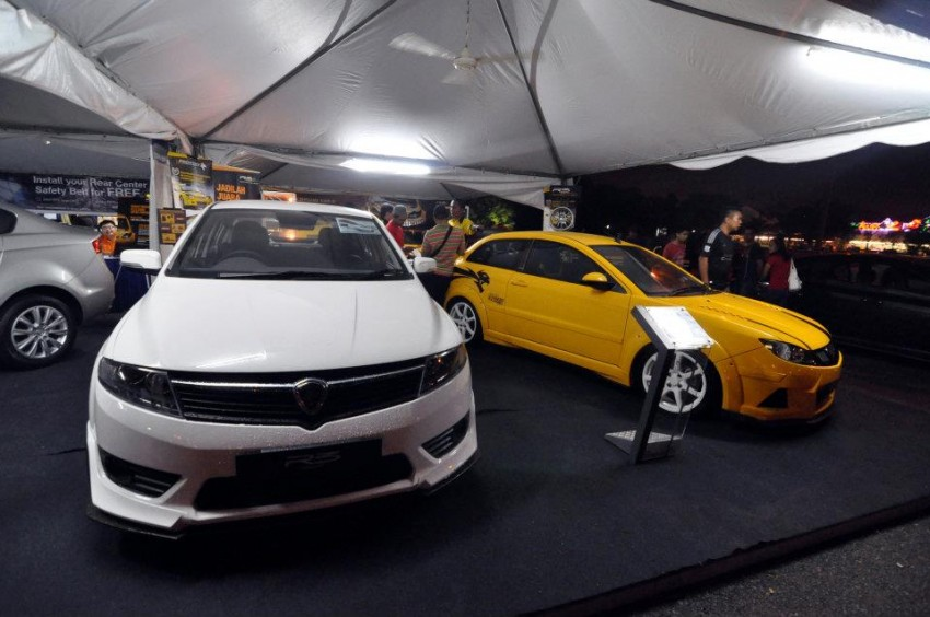 Proton Preve R3 Concept at 2012 Malaysian Rally Image #118370