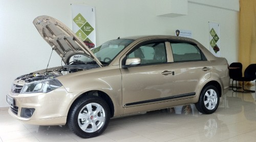 Proton Saga FLX with CVT and ABS seen in showroom!