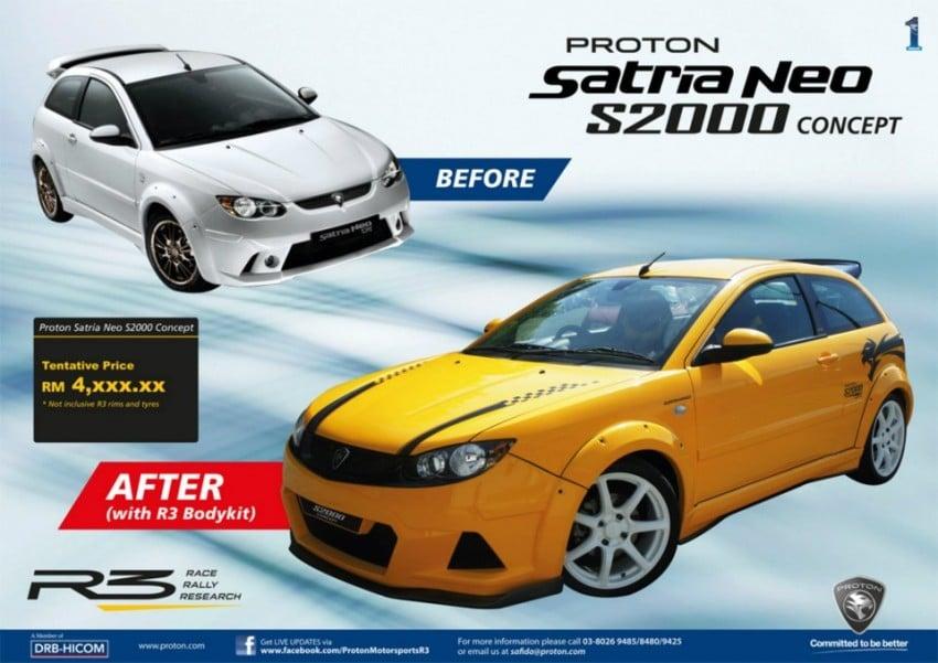 Proton Satria Neo S2000 Edition Supercharged Concept at Plaza Angsana JB Image #118243