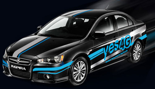 Yes 4G Proton Inspira unveiled at Bukit Bintang – and you can win it and other prizes in an online contest! Image #89110