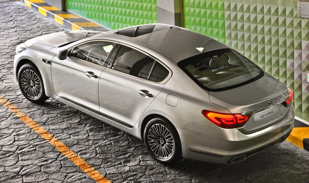 Kia Quoris - the K9 gets a name for global markets