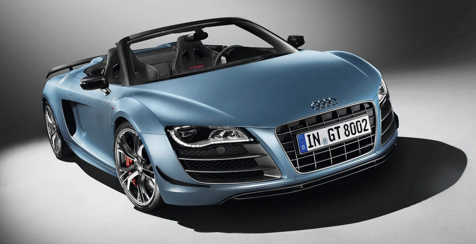 Another Day Another Topless Star Audi R GT Spyder - Day audi