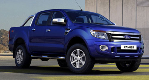 New Ford Ranger 2011 South Africa. on the new Ford Ranger at