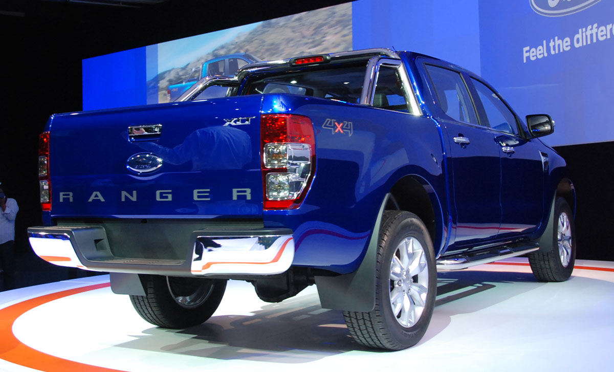 all new ford ranger gets asean debut in thailand coming to malaysia early 2012. Black Bedroom Furniture Sets. Home Design Ideas