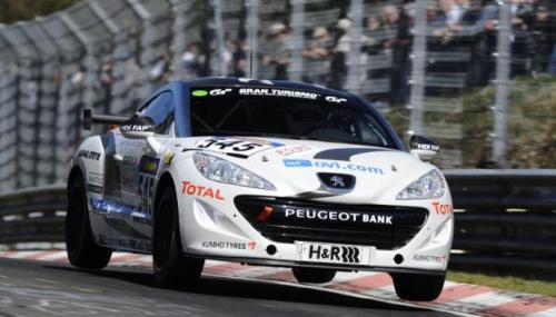 Peugeot RCZ set for a busy VLN racing season in 2011