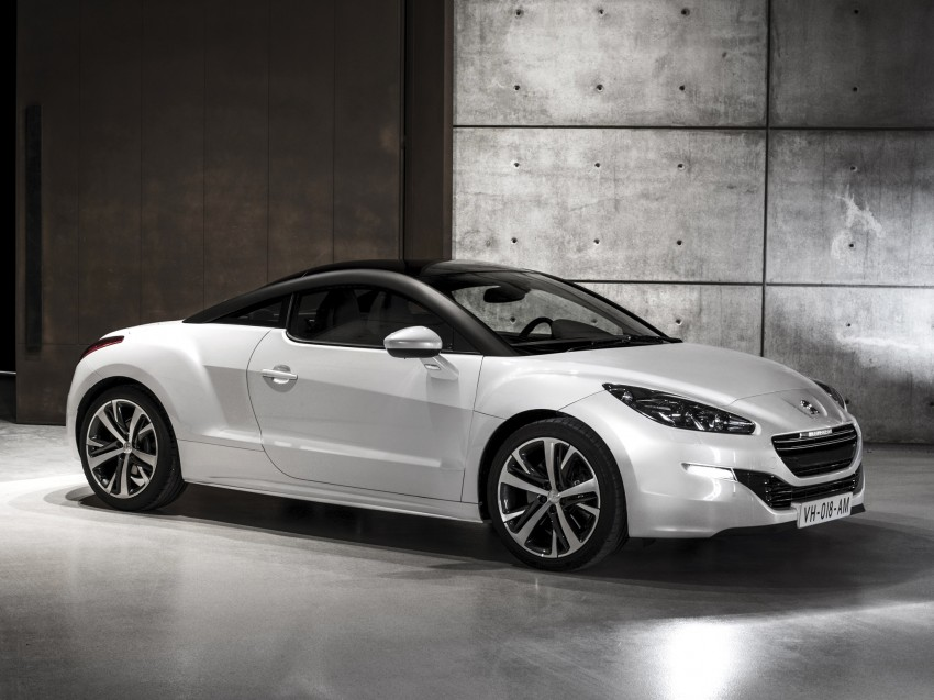 Peugeot RCZ facelift: first photos, attending Paris Image #130693