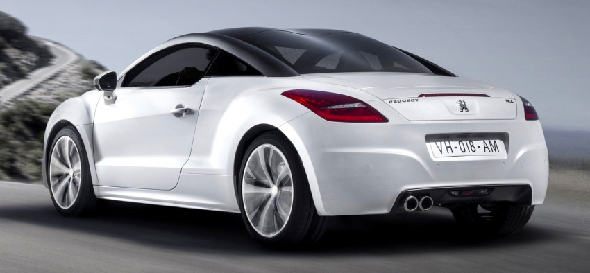 Peugeot RCZ facelift: first photos, attending Paris Image #130702