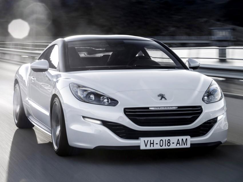 Peugeot RCZ facelift: first photos, attending Paris Image #130695