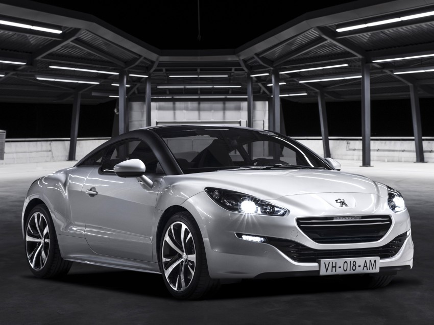 Peugeot RCZ facelift: first photos, attending Paris Image #130697