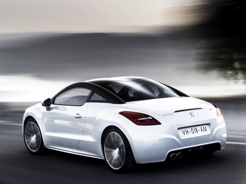 Peugeot RCZ facelift: first photos, attending Paris Image #130698