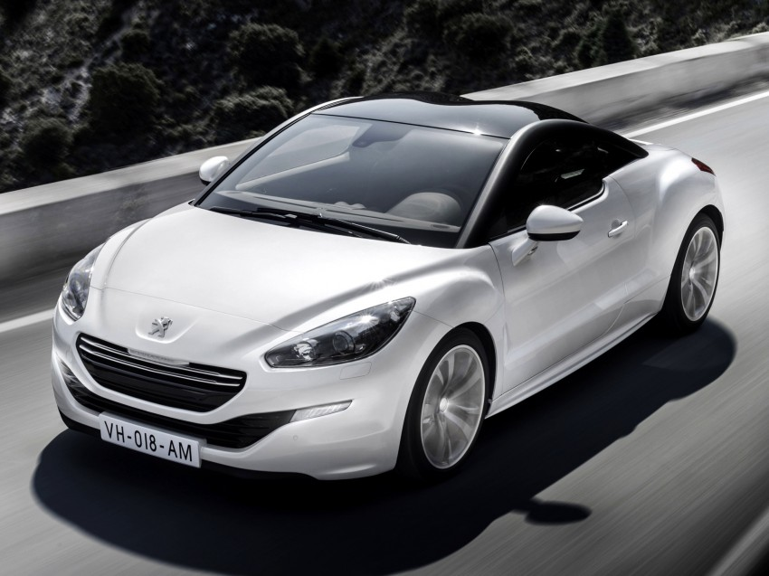 Peugeot RCZ facelift: first photos, attending Paris Image #130701