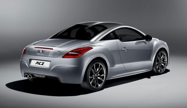 Peugeot RCZ Onyx edition for France and Germany