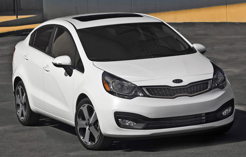 Kia Rio Sedan Makes NYC Debut, Styling Different From K2